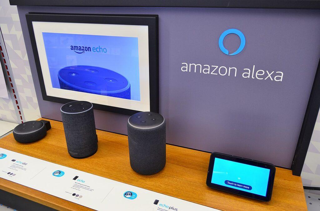 Amazon Alexa booth - Photo by Wikipedia
