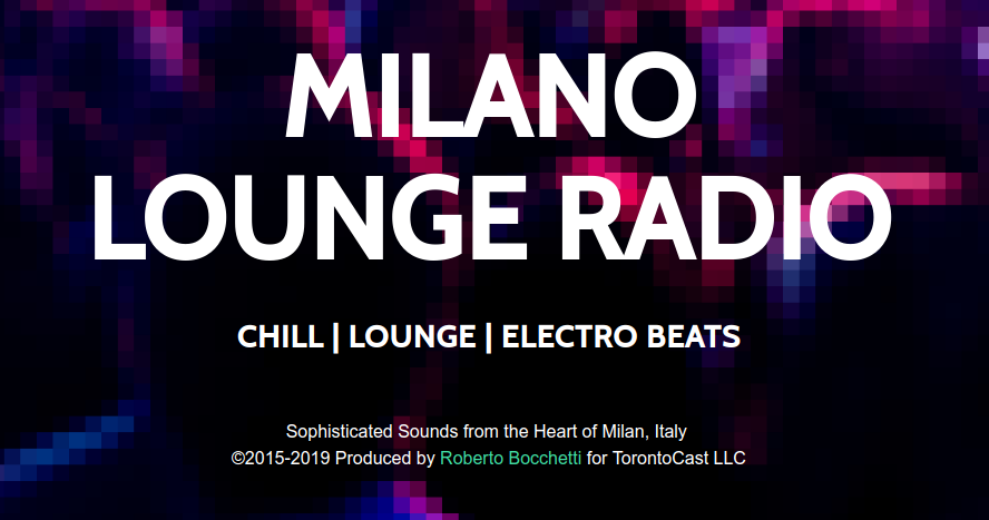 Listen to Crystal Clear Sound on Milano Lounge Radio HD, High Definition Digital Radio